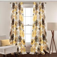 95 Inch Curtain Panels Lush Decor 16t000101 Room Darkening Window Curtain Panel Pair
