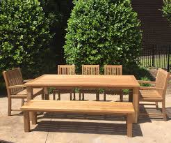 reclaimed teak table 8 seater atlanta teak furniture