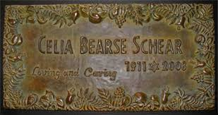 bronze grave markers of remembering custom memorial grave markers urns in