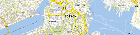 Boston Commons Map by Download Map Boston