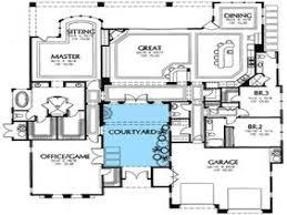 southwest house plans 38 south west home plans with courtyard plans with courtyard on