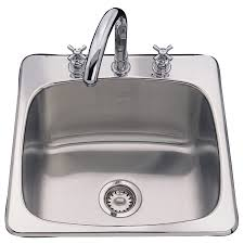 Drop In Stainless Steel Sink Shop In Stock Kitchen Sinks At Lowes Com