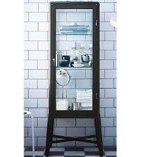 ikea fabrikor ikea fabrikor glass door cabinet dark grey idiya