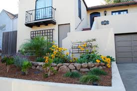 home design for front small flower bed pictures garden in front of house modern home