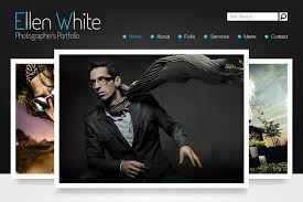 photographers websites free website template start photographer s portfolio monsterpost