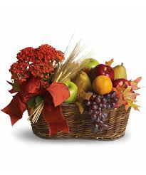 thanksgiving fruit basket warm thanksgiving traditions customs pueblo co florist