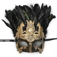 mask with feathers masquerade mask feathers m7134 gold beyondmasquerade