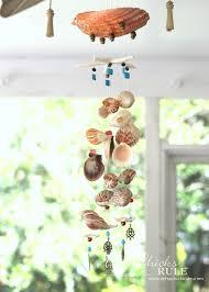 How To Make A Beaded Chandelier Diy Seashell U0026 Bead Wind Chime Artsy Rule