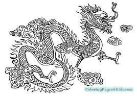 chinese dragon coloring pages easy chinese dragon coloring pages easy bgcentrum