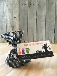 free printable halloween treat bag labels halloween treat bag topper free printable