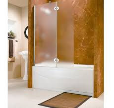 frosted shower doors with tub best 21996 nomopes bathtub shower