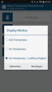 Wohnzimmer Temperatur Test Des Homematic Ip Wandthermostat Und Luftfeuchtigkeitssensor