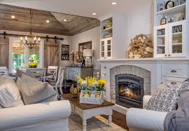 Interior Shiplap Whitewashed Brick U0026 Reclaimed Barn Wood Shiplap Interiors Home