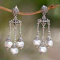 Chandelier Earrings Unique Chandelier Earrings Sterling Silver Earrings Unique Silver Earrings At Novica