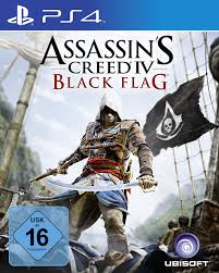 Video Game Flags Assassin U0027s Creed 4 Black Flag Playstation 4 Amazon De Games