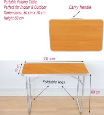 portable folding tables with handles with inspiration design 9776