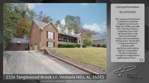 Walk Into Dining Room From Front Door 2336 Tanglewood Brook Ln Vestavia Hills Al 35243 Youtube