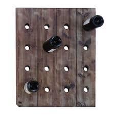 wall mount wine racks for less overstock com