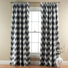 Chevron Style Curtains Lush Decor Chevron Blackout Window Curtain Pair