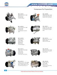 97 lexus lx450 ac compressor china manufacturer 10pa15l ac compressor with 4 grooves clutch