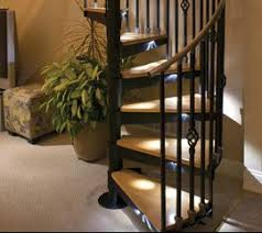 indoor spiral staircase lights i lighting led solutions