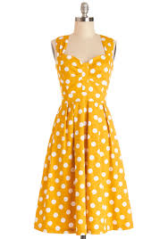 and many more dress modcloth u003e u003e u003e this color and polka dots makes