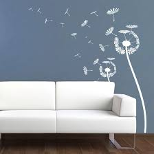 wandtattoo pusteblume elegante pusteblume als wandtattoo wall