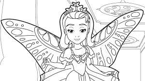 sofia coloring pages crafts disney junior sofia