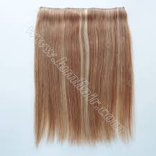 flip in hair hair extensions styles realized by chinese hair extensions supplier