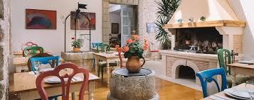 restaurant area rigel hotel kaštel motovun istria croatia