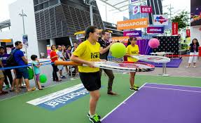 the sports fan zone wta finals singapore 2016 tennis matches and activities at this