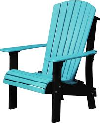 Adirondack Chair Colors Luxcraft Poly Royal Adirondack Chair Comfort Height Swingsets