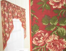 Vintage Kitchen Curtains by Retro Kitchen Curtains 1950s Diner Style Four Panels Red Red And