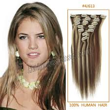 18 inch hair extensions inch 4 613 clip in human hair extensions 8pcs