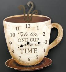 Coffee Themed Wall Clocks Best 25 Coffee Themed Kitchen Ideas