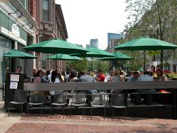 Copley Square Boston Map by These 170 Patios Are Officially Open For 2017