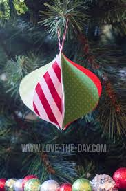 diy paper ornaments by love the day