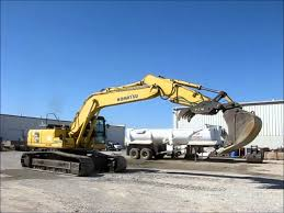 2002 komatsu pc270lc 7 excavator for sale sold at auction april