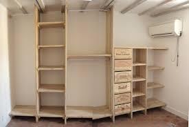 fabriquer une chambre fabriquer un dressing pas unique faire un dressing dans une chambre