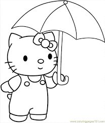 simple free umbrellas coloring pages color number umbrella