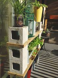 cinderblock storage solutions industrial furniture pinterest