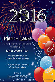 cool party invitations 10 personalised new years eve party invitations no1