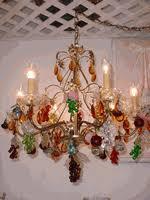 Glass Fruit Chandelier by Large Glass Fruit Chandelier