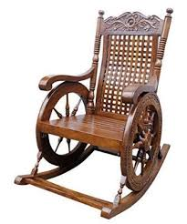 Rocking Chair Tayyaba Enterprises Sheesham Wooden Rocking Chair In