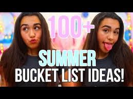 100 summer list ideas 2017