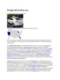 lexus wiki is download google driverless car wiki docshare tips
