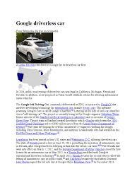 lexus wiki car download google driverless car wiki docshare tips