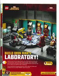 stark malibu mansion building the iron man secret lab hall of armor lego club exclusive
