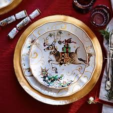 t was the before dinner plates deck the halls