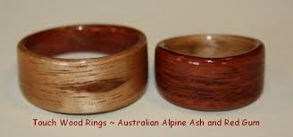 touch wood rings touch wood rings